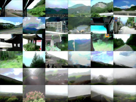 【商業使用OK】山の風景素材集01_富士登山編_水彩画風【加工OK】- 体験版
