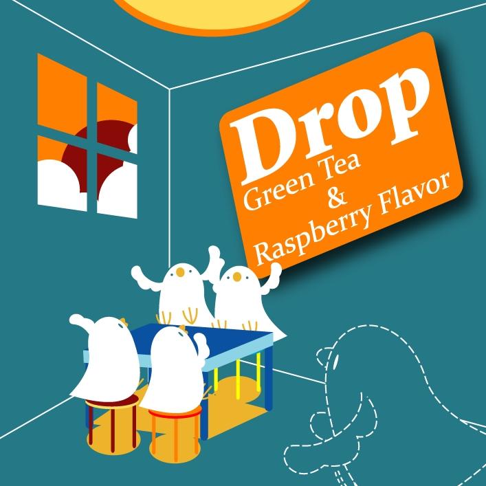 Drop(X-fade demo) / Green Tea & Raspberry Flavor