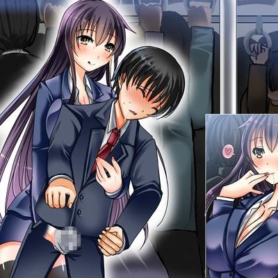 電車の中でお姉さんに逆痴漢されてパンツの中で射精させられた話