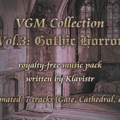 """ロイヤリティフリー楽曲素材集 """"VGM Collection Vol.3: Gothic Horror"""""""